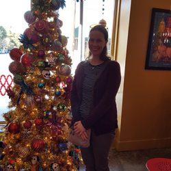 Christmas Tree at Rosario's