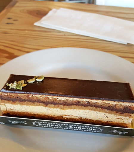 Bakery Lorraine Opera Cake
