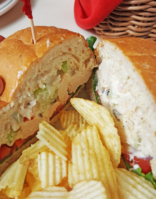 Guenther House Chicken Salad Sandwich