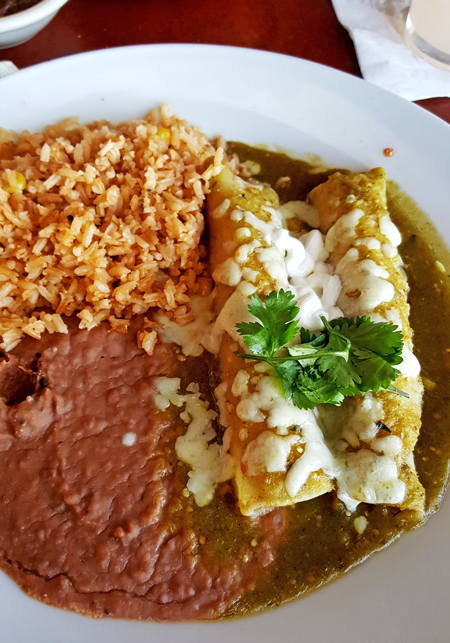 Rosario's Enchiladas Verdes de Pollo y Elote
