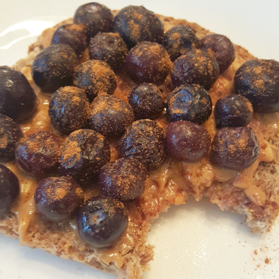 Blueberry Toast