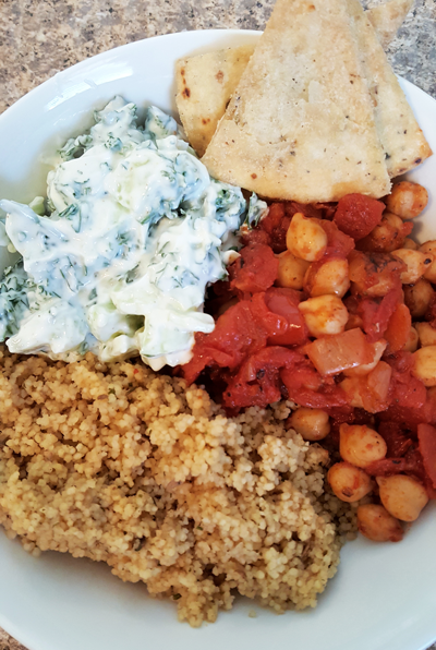 Moroccan-Spiced Chickpea Bowl
