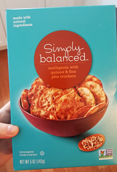 Simply Balanced Pita Crackers