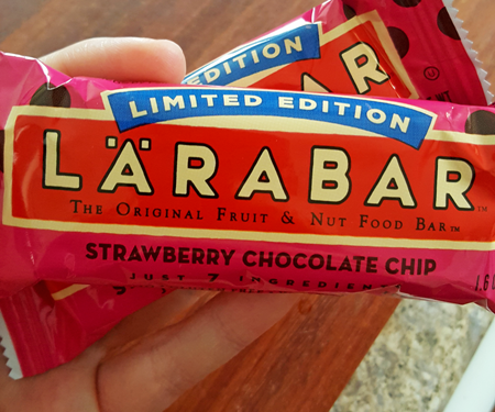 Strawberry Chocolate Chip Larabar