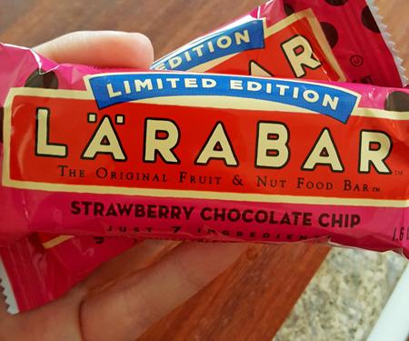 Strawberry Chocolate Chip Larabar