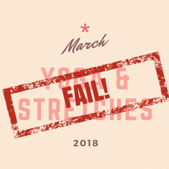 March Challenge Fail