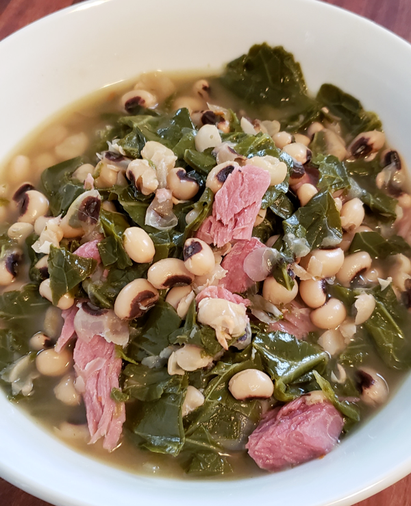 Black-Eyed Peas & Greens