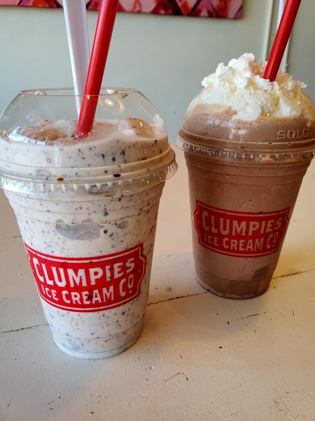 Clumpies Milkshakes
