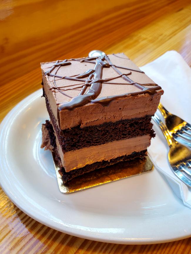 Hot Chocolatier Chocolate Mousse Cake